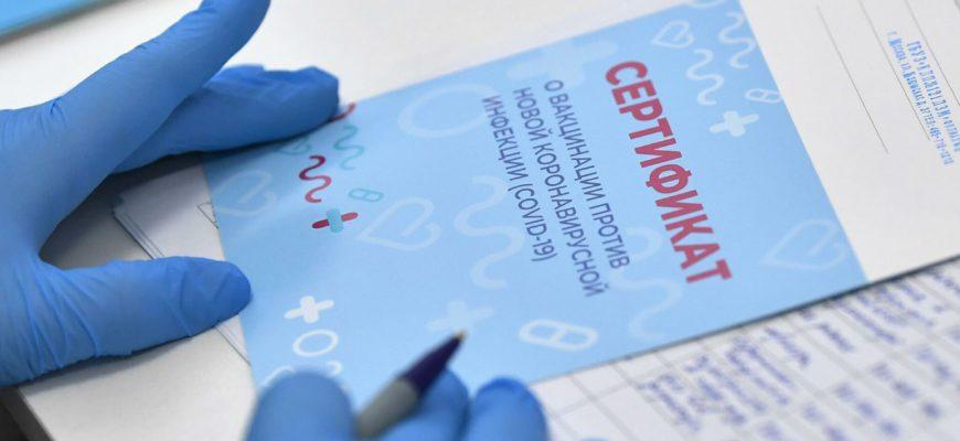 сертификат о вакцинации от коронавируса для турции